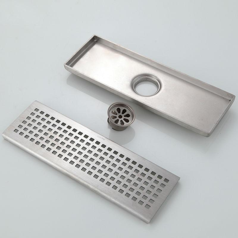 cherokee stainless steel anti odour u0026 pest control linear shower drain 1