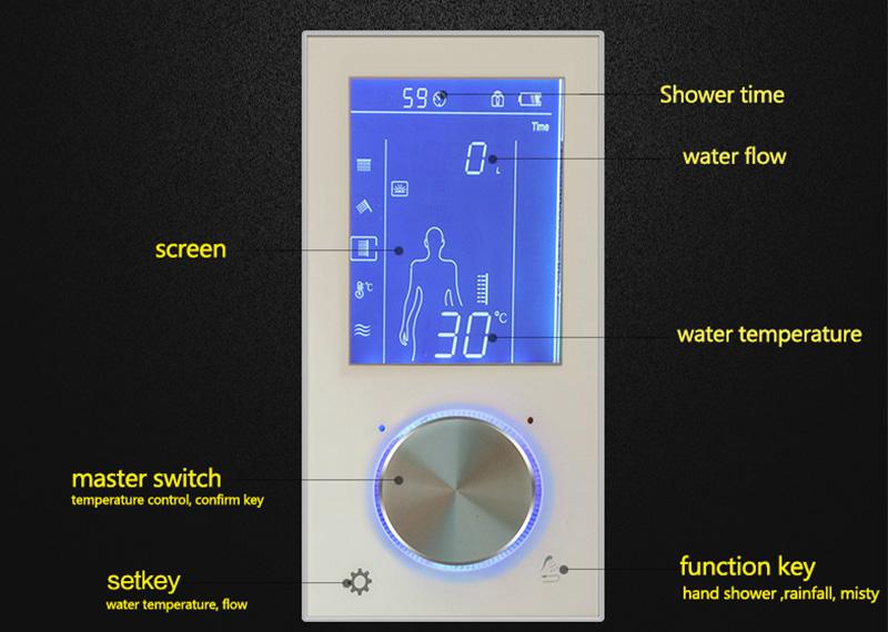 darnell 3 way digital shower
