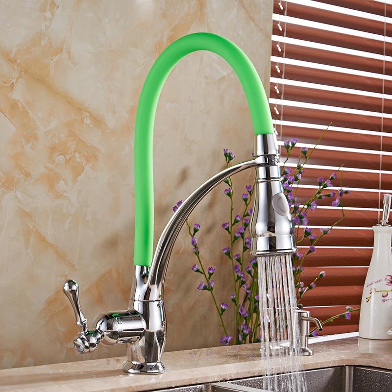 Mitchell Single Handle Noctilucent Kitchen Sink Faucet