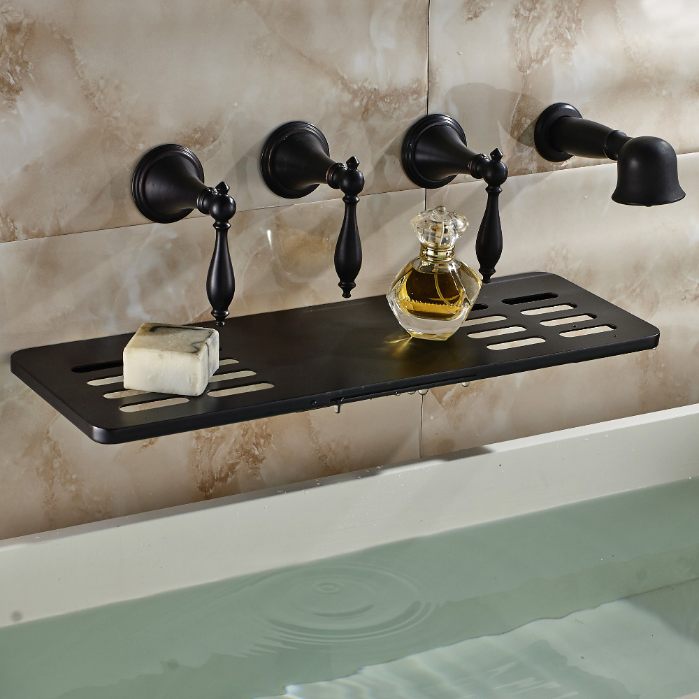 Waihilau Oil Rubbed Bronze Finish Water Fall BathTub Faucet with ...