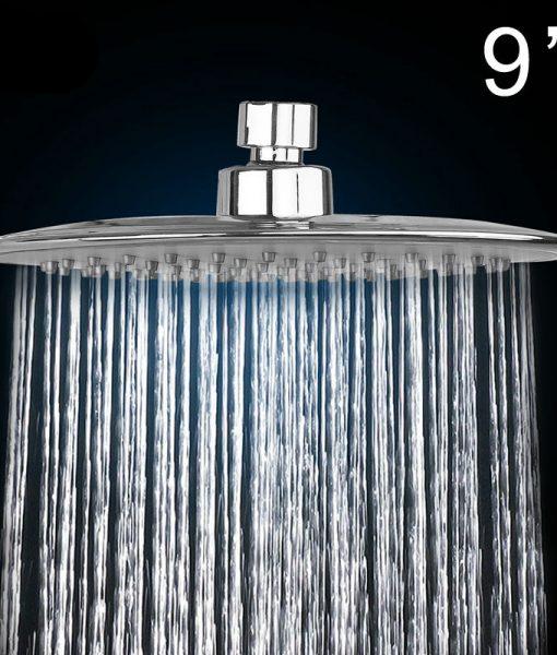Wapama 9 Ultra Thin Rain Fall Shower Head 1